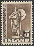 ISLANDIA 1939/43 - Yvert #187 - MNH ** - 1918-1944 Administración Autónoma