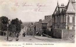 17. Marle  - Faubourg Saint Nicolas , Animé - 02 - - France