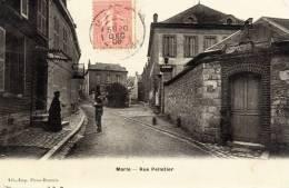 Marle  - Rue Pelletier , Animation - 02 - - France
