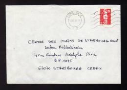 Lettre Avec Flamme PARIS GARE PLM 12/02/1993 - Réf A1254 - Sellados Mecánicos (Publicitario)