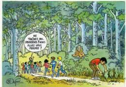 SCOUTS DE FRANCE Illustration Bernard DUFOSSE - Scoutisme