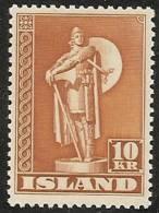 ISLANDIA 1939/43 - Yvert #188a - MNH ** - 1918-1944 Administración Autónoma