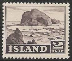 ISLANDIA 1950/52 - Yvert #232 - MNH ** - 1918-1944 Administración Autónoma