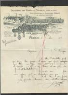 Papier En-tête 1906 Distillerie Pyrénées Centrales Pamiers - 1900 – 1949