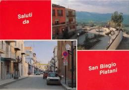 SAN BIAGIO PLATANI (AG) SALUTI & BELLE VEDUTINE - Agrigento