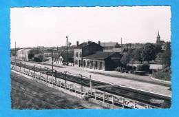CPSM - Villers Bretonneux- La Gare Vue De L'intérieur - 80 Somme - Villers Bretonneux