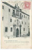 Cpa Bon Etat , Santo-domingo-de-silos , Carte Rare Precurseur  Fachada Del O Del Monasterio Y Entrada Principal - Espagne