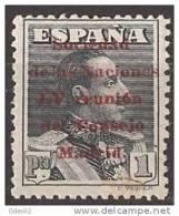 ES465-L3969TOISC.España Spain Espagne SOCIEDAD DE NACIONES ALFONSO XIII.1929 (Ed 465*).con Charnela.MAGNIFICA - Organizaciones