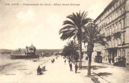 CPA NICE - PROMENADE DU MIDI - HOTEL BEAU-RIVAGE - Unclassified