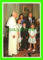 ROYAL FAMILIES - THE KING & QUEEN OF SWEDEN -  KUNG CARL XVI GUSTAF OCH DROTTNING SILVIA - JOHANNES PAULUS II - - Royal Families