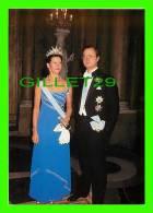 ROYAL FAMILIES - KUNG CARL XVI GUSTAF OCH DROTTNING SILVIA - - Royal Families