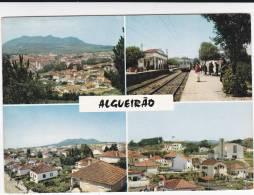PORTUGAL LISBOA  ALGUEIRÃO ESTAÇÃO DE COMBOIO 2  SCANS - Stazioni Con Treni