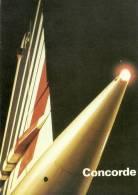 Concorde - AIR FRANCE - Avion Supersonique Commercial - BL 1/86 - 1946-....: Moderne