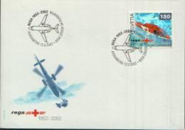 1952 - 2002 REGA  ZURICH FLUGHAUFEN - Svizzera