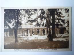 CASTELNAU-BARBARENS  (Gers)   :  Station Thermale  -  Les  BAINS - Sonstige Gemeinden