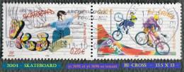 2004 - Europe - France - Skate Et Bi-cross Se Tenant - - Skateboard
