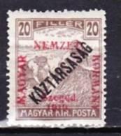 1919-Ungarn-Szegedin-Mi 33 (*) - Szeged