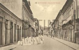 PORTUGAL - GUIMARÃES - RUA DE GIL VICENTE - 1915 PC. - Braga