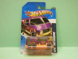 GMC MOTORHOME - Heat Fleet 2012 - HOTWHEELS Hot Wheels Mattel 1/64 US Blister - HotWheels