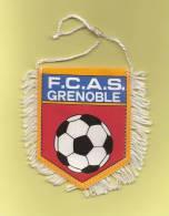 *  Fanion Sportif : Football : F.C.A.S. GRENOBLE  - Voir Les 2 Scans - - Habillement, Souvenirs & Autres