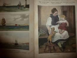 1902 Le Petit Français Illustré :Humeurs De La Mer;SNCF;HACHISCH Et CONSTANTINE; Reliure En Peau Humaine;Chapeau PANAMA - Livres, BD, Revues