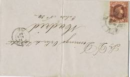 3266. Envuelta MURCIA 1862, Rueda De Carreta Num 11 - Briefe U. Dokumente