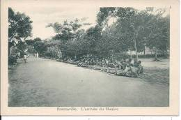 CONGO - BRAZZAVILLE - L´arrivée Du Manioc - Brazzaville