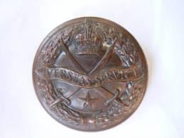 Medaille Medal Britisch Overseas Service India Bronze - Grande-Bretagne