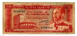 ETHIOPIA 10 $ ND  VF  Circulated - Ethiopie