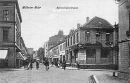 Kettenbruckstrasse Kronen Brauerei Mulheim A Ruhr 1910 Postcard - Muelheim A. D. Ruhr