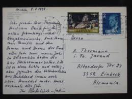 Ak Spanien Espana, Marbella, Deutsche Schule, 1978, Nice Stamps - Spanien