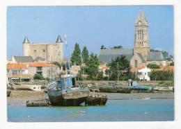 Noirmoutier En L'Ile - Le Chateau Et L'eglise St. Philbert - Noirmoutier