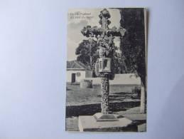 T250) PORTUGAL FARO SILVES  CRUZ DE PORTUGAL ED. PAPELARIA ARTISTICA DO. ALGARVE - Faro