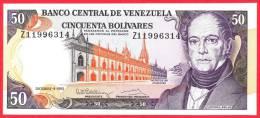 Venezuela -  50 Bolivares - UNC - 1992 / Papier Monnaie - Billet - Vénézuela - Venezuela