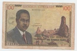"CAMEROUN 100 FRANCS 1962 ""F"" P 10 - Kameroen"