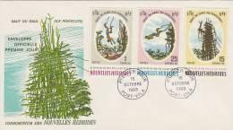 New Hebrides 1969 Pentecost Island Land Divers FDC - Nouvelles-Hébrides