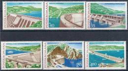 1978 ROUMANIE 3088-93** Barrages, électricité - 1948-.... Republics