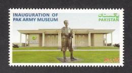 PAKISTAN 2013 Inauguration Of Pak Army Museum, Militaria, 1v MNH