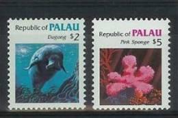 Mmo192 FAUNA ´VISSEN FISH´ ZEEKOE MANATEE DUGONG SPONS SPONGE MARINE LIFE PALAU 1984 PF/MNH - Palau
