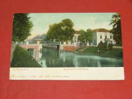 UTRECHT  -  Gezicht Op De Willemsbrug     -  1905   -   (2 Scans) - Utrecht