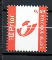 COB 3228 0.49 Euros Nouveau Logo PRIOR Neuf SANS Charnière Moins Cher Que Prix Poste - Belgien