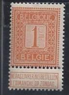YT Belgique 1907-02- N° 108 - Neuf - Chiffre.jpg - Belgique
