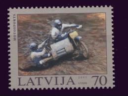 Lettonie ** N° 569 - Motos - - Motorbikes