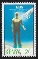 "KENYA - Scott #559 U01 / ""1991"" - Used Stamp - Kenya (1963-...)"