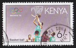"KENYA - Scott #555 U01 / ""1991"" - Used Stamp - Kenya (1963-...)"