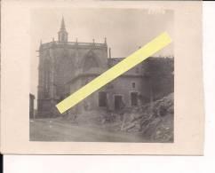 Etain Meusel'église Carte Photo Allemande Poilus 1914-1918 14-18 Ww1 WWI 1.wk - War, Military