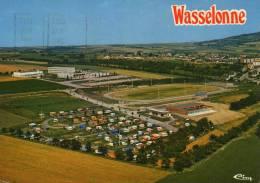 (67)   BAS-RHIN  *** WASSELONNE  **** VUE AERIENNE DU STADE DE FOOTBALL  +++CES - France