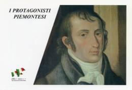 [DC1449] CARTOLINEA - 150° ANNO UNITA´ D´ITALIA - PROTGONISTI PIEMONTESI - CARLO BOTTA (1766-1837) - (25) - Storia