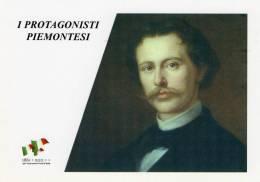 [DC1456] CARTOLINEA - 150° ANNO UNITA´ D´ITALIA - PROTGONISTI PIEMONTESI - COSTANTINO NIGRA (32) - Storia