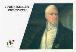 [DC1458] CARTOLINEA - 150° ANNO UNITA´ D´ITALIA - PROTGONISTI PIEMONTESI - GIOVANNI NIGRA (34) - Storia